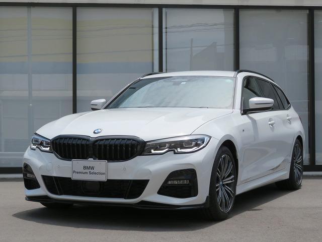 BMW 320iツーリング Mスポーツ ハイラインパッケージ コンフォートPKG LEDヘッドライト 18AW PDC オートトランク コンフォートアクセス レザーシート トップ リアビューカメラ 純正ETC Aクルコン レーンチェンジ 車線逸脱 認定中古車