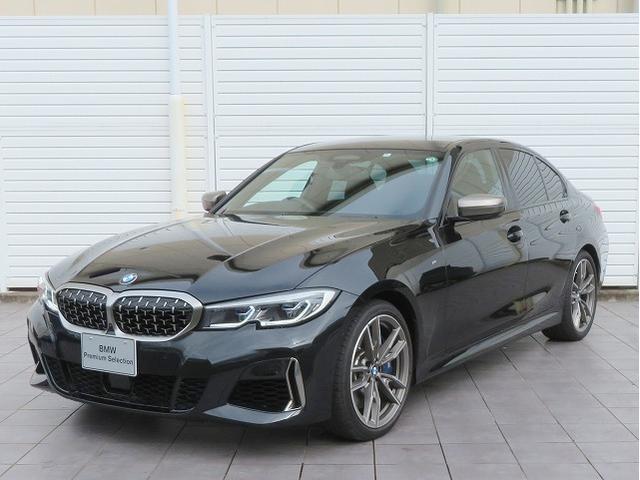 BMW M340i xDrive レーザーライト 19AW PDC コンフォートアクセス レザーシート ブラックレザー 純正ナビ iDriveナビ トップ リアビューカメラ HUD 純正ETC Aクルコン レーンチェンジ 認定中古車