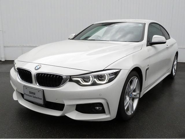 BMW 4シリーズ 420iクーペ Mスポーツ LEDヘッドライト 18AW PDC コンフォートアクセス レザーシート マルチメーター 純正ナビ リアビューカメラ 純正ETC アクティブクルーズコントロール レーンチェンジ 車線逸脱 認定中古車