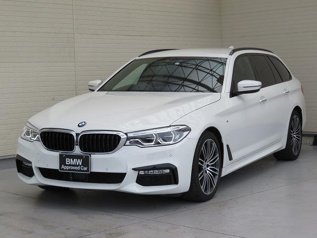 BMW 5シリーズ 540i xDriveツーリング Mスポーツ LEDヘッドライト 19AW ソフトクローズドア オートトランク コンフォートアクセス ブラックレザー マルチメーター 純正ナビ トップ リアビューカメラ HUD 純正ETC Aクルコン 認定中古車