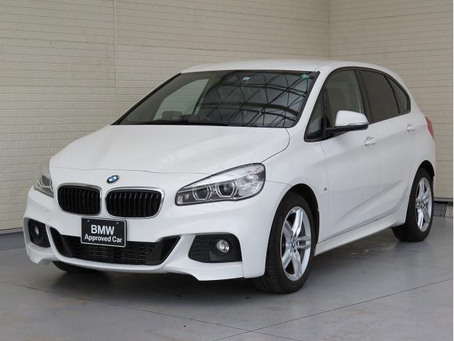 BMW 218dアクティブツアラー Mスポーツ MS コンフォートPKG LEDヘッドライト 17AW パーキングサポートPKG オートトランク コンフォートアクセス レザーシート 純正ナビ リアビューカメラ 純正ETC Aクルコン 認定中古車