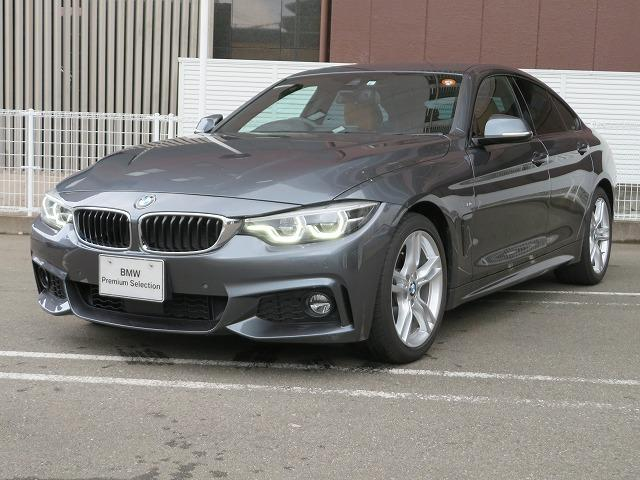 BMW 4シリーズ 420iグランクーペ Mスポーツ MS LEDヘッドライト 18AW PDC オートトランク コンフォートアクセス レザーシート マルチメーター 純正ナビ リアビューカメラ 純正ETC Aクルコン レーンチェンジ 車線逸脱 認定中古車