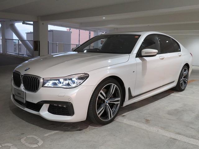 BMW 740i Mスポーツ レーザーライト 20AW サンルーフ ガラスSR コンフォートアクセス マルチメーター 純正ナビ リアモニター トップ リアビューカメラ ベンチレーションシート Aクルコン レーンチェンジ 認定中古車