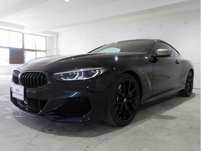 BMW M850i xDriveクーペ カーボンルーフ ツートンレザー アクティブベンチレーションシート 20AW ハーマンカードンサラウンドシステム アラウンドビュー ナイトビジョン レーザーライト ヘッドアップディスプレイ 認定中古車