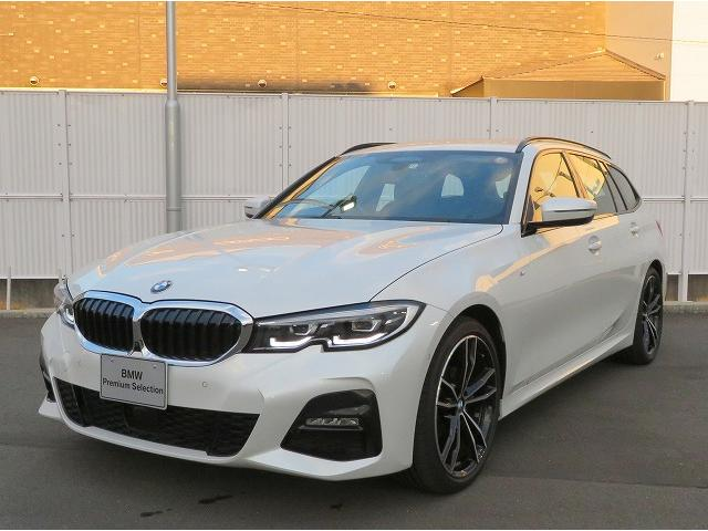 BMW 318iツーリング Mスポーツ MS LEDヘッドライト 18AW PDC オートトランク コンフォートアクセス 純正ナビ iDriveナビ 純正ETC アクティブ クルーズ コントロール ストップ ゴー レーンチェンジ 認定中古車