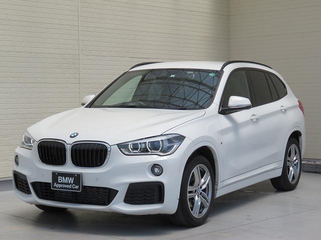 BMW X1 xDrive 18d Mスポーツ コンフォートPKG LEDヘッドライト 18AW PDC オートトランク コンフォートアクセス iDriveナビ フルセグ リアビューカメラ レーンディパーチャーウォーニング 認定中古車