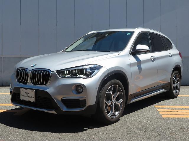 BMW X1 xDrive 18d xライン ハイラインパッケージ コンフォートPKG LEDヘッドライト 18AW オートトランク ブラックレザー 純正ナビ リアビューカメラ HUD 純正ETC Aクルコン 車線逸脱 レンタカー利用歴有 認定中古車