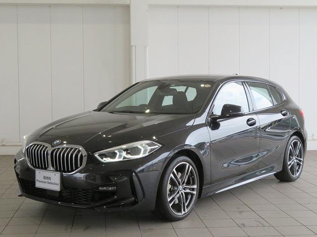 BMW 118i Mスポーツ 認定中古車 LEDヘッドライト 18AW PDC コンフォートアクセス ナビパッケージ iDriveナビ リアビューカメラ 純正ETC レーンチェンジ&ディパーチャーウォーニング
