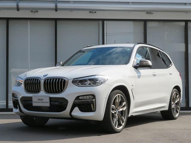 BMW X3 M40d 認定中古車 イノベーションPKG リアシートアジャストメント ディスプレイキー レーンチェンジ&ディパーチャーウォーニング アクティブクルーズコントロール ヘッドアップディスプレイ 黒革 21AW
