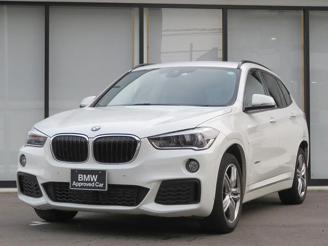 BMW X1 xDrive 18d Mスポーツ コンフォートPKG 18AW PDC オートトランク コンフォートアクセス iDriveナビ  フルセグ リアビューカメラ 純正ETC レーンディパーチャーウォーニング 認定中古車
