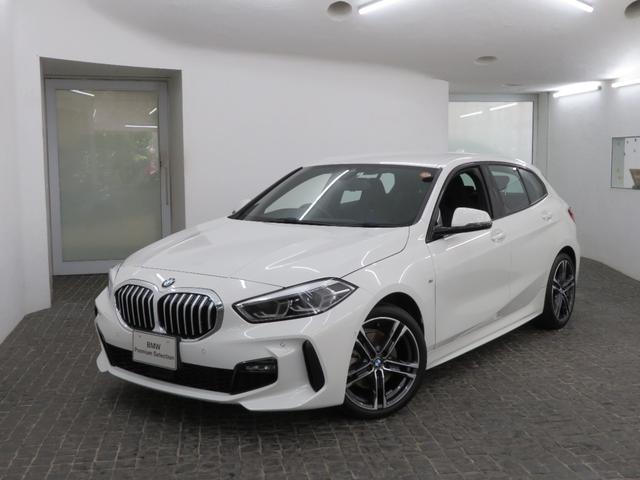 BMW 118i Mスポーツ MS コンフォートPKG LEDヘッドライト 18AW オートトランク コンフォートアクセス ナビパッケージ 純正ナビ リアビューカメラ 純正ETC Aクルコン レーンチェンジ 車線逸脱 認定中古車