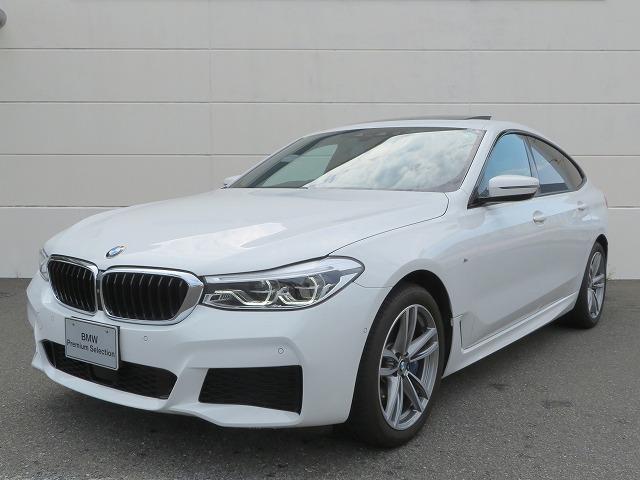BMW 630i グランツーリスモ Mスポーツ 認定中古車 セレクトPKG パノラマガラスサンルーフ 黒革 ハーマンカードンサラウンドシステム 19AW アクティブクルーズコントロール ヘッドアップディスプレイ アラウンドビュー