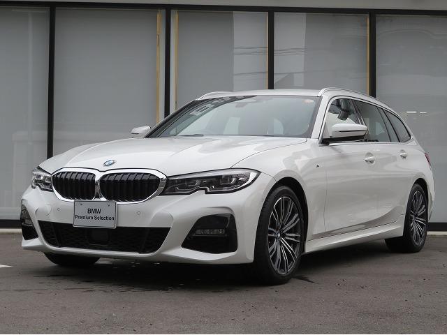 BMW 320dxDriveツーリングMスポーツハイラインP コンフォートPKG LEDヘッドライト 18AW オートトランク コンフォートアクセス ブラックレザー 純正ナビ トップ リアビューカメラ 純正ETC Aクルコン レーンチェンジ 車線逸脱 認定中古車