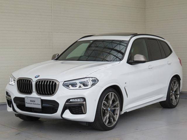 BMW X3 M40d LEDライト 21AW パノラマガラスサンルーフ セレクトPKG H&Kサスペンション 茶革 アラウンドビュー アクティブクルーズコントロール ヘッドアップディスプレイ 認定中古車