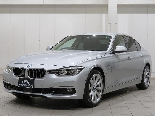 BMW 330eラグジュアリー パーキングサポートPKG 純正OP18アルミ アクティブクルーズ レーンチェンジ&レーンデパーチャー 黒革Pシート&シートヒーター ストレージPKG 認定中古車