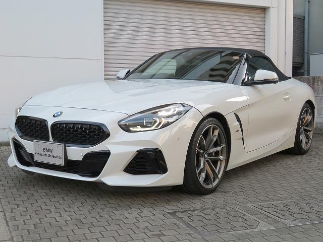 BMW Z4 M40i 19AW 黒革 アクティブクルーズ HUD レーンチェンジ LEDライト スマートキー Bカメラ ヘッドアップディスプレイ 認定中古車