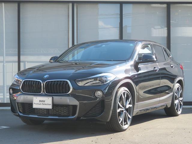 BMW X2 xDrive 18d MスポーツX コンフォートPKG LEDライト OP20AW オートトランク 純正ナビ Bカメラ ヘッドアップディスプレイ 純正ETC アクティブクルーズコントロール レーンディパーチャーウォーニング 認定中古車