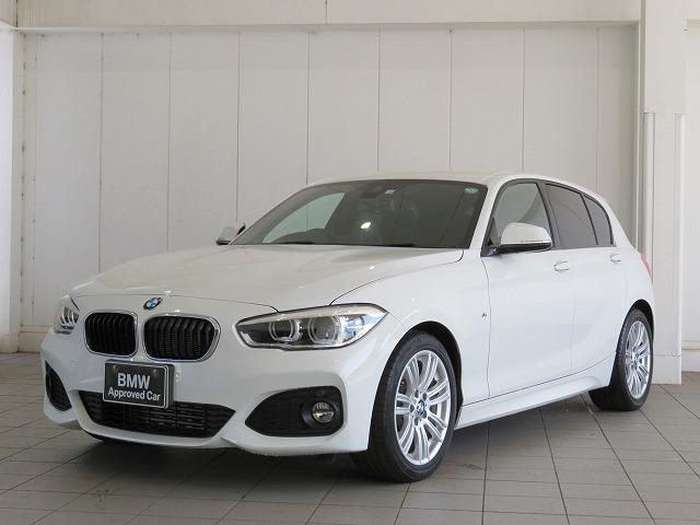 BMW 1シリーズ 118d Mスポーツ コンフォートPKG LEDヘッドライト 17AW パーキングサポートPKG リアPDC 純正ナビ リアビューカメラ レーンディパーチャーウォーニング クルーズコントロール 認定中古車