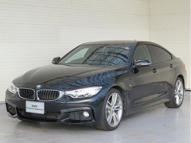 BMW 4シリーズ 420iグランクーペ Mスポーツ MS キセノン 19AW リアPDC オーオトランク コンフォートアクセス レザーシート ブラックレザー 純正ナビ リアビューカメラ 純正ETC Aクルコン レーンチェンジ 車線逸脱 認定中古車