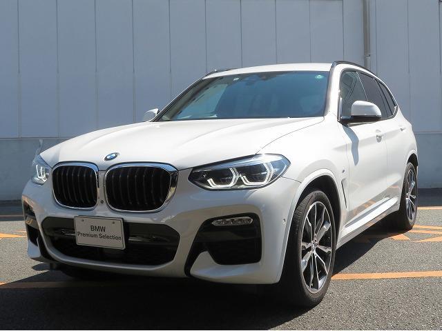 BMW X3 xDrive 20d Mスポーツ Hi Line イノベーションPKG LEDライト OP20AW PDC オートトランク 茶革 マルチメーター アクティブクルーズコントロール アラウンドビュー 認定中古車