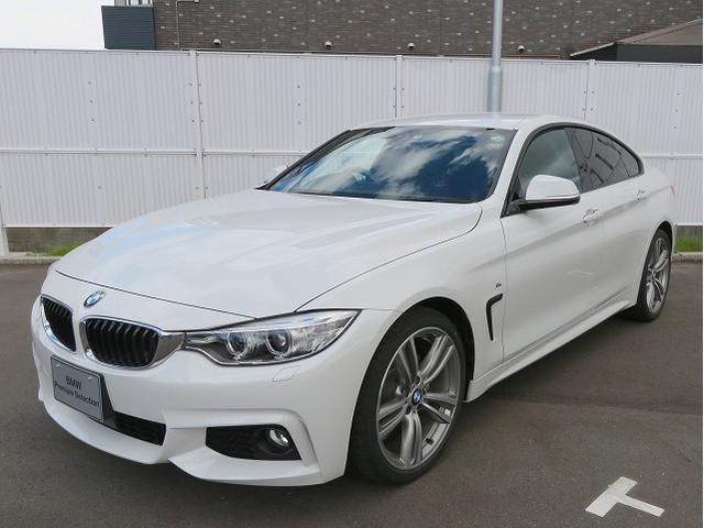 BMW 4シリーズ 420iグランクーペ Mスポーツ B48エンジン パドルシフト 黒革 19AW アクティブクルーズコントロール レーンチェンジウォーニング オートトランク スマートキー 19AW 認定中古車