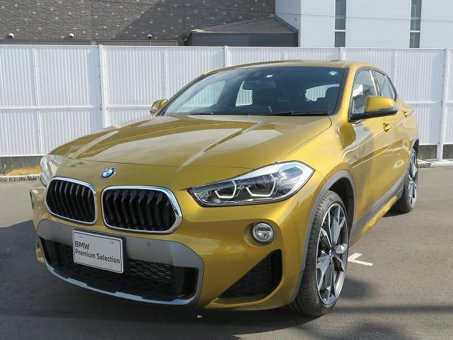 BMW X2 xDrive 18d MスポーツX コンフォートPKG LEDヘッドライト 19AW PDC オートトランク コンフォートアクセス iDriveナビ リアビューカメラ 純正ETC レーンディパーチャーウォーニング 認定中古車