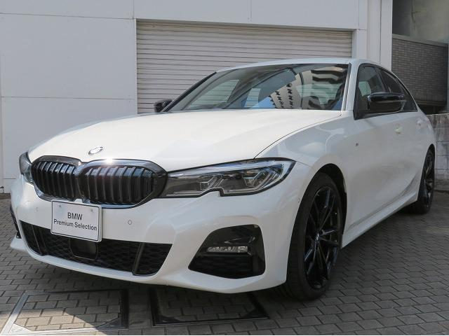 BMW 320dxDriveMスポーツエディションサンライズ レーザーライト 19AW PDC スマートキー 黒革 純正ナビ アクティブクルーズコントロール レーンチェンジウォーニング アダプティブサスペンション 認定中古車