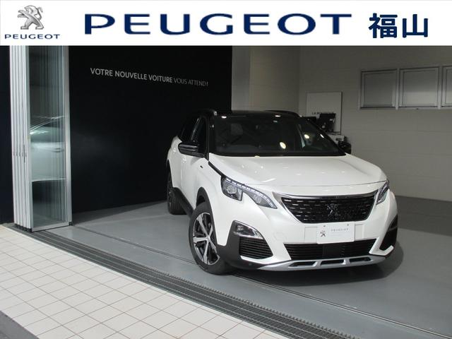 プジョー GTライン ブルーHDi サンルーフ 電動シート カープレイ