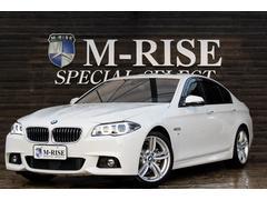 BMW528iMスポーツ 左H SR ACC LEDヘッドライト