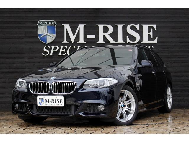 BMW 523iツーリング Mスポーツパッケージ SR 茶革シート