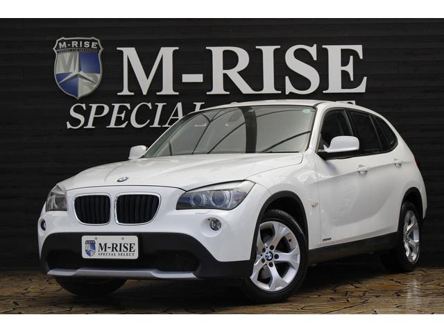 BMW X1 sDrive 18i ハイライン ワンオーナー 黒革シート シートヒーター メモリー付Pシート 社外ナビ TV ミラーETC コンフォートアクセス キセノン