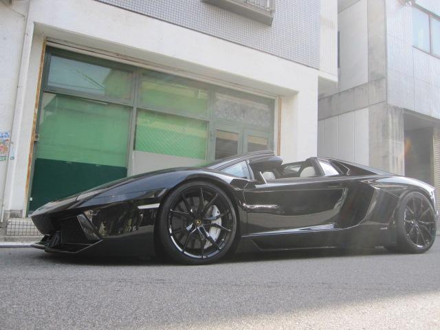 ランボルギーニ LP700-4ロードスター D車 パワクラマフラー