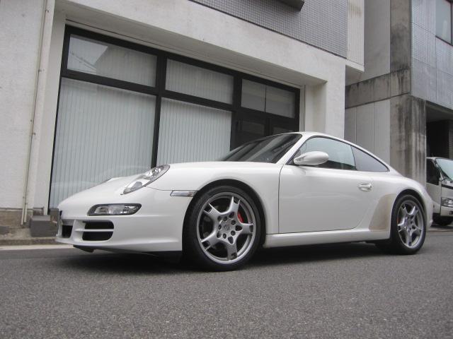 ポルシェ 911 911カレラS D車 禁煙車 屋内保管 スポーツシート