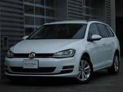 VW ゴルフヴァリアントTSIコンフォートラインBMT純正ナビSキー新車保証継承