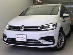 VW ゴルフトゥーランTSI Rライン純正ナビLEDヘッドライト新車保証継承