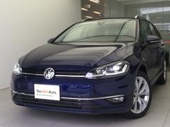 VW ゴルフヴァリアントTSIハイライン純正ナビゲーションRカメラ新車保証継承