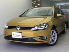 VW ゴルフヴァリアントTSIハイライン純正ナビRカメテクノロジーPKG新車保証継承