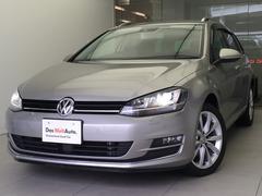VW ゴルフヴァリアントTSIハイラインBMT純正ナビRカメラ認定中古車1年保証