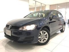 VW ゴルフTSIトレンドラインBMT認定中古車1年保証