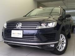 VW トゥアレグV6アップグレードパッケージ純正ナビRカメラ認定中古車