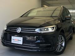 VW ゴルフトゥーランTSIRライン純正ナビ追従クルーズRカメラLEDヘッドライト