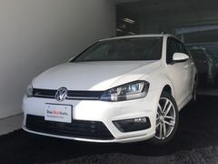 VW ゴルフヴァリアントRラインブルーモーションテクノロジー 純正ナビ 認定中古車