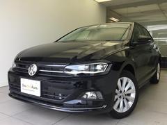 VW ポロTSIハイライン LEDヘッドライト純正ナビACC認定中古車
