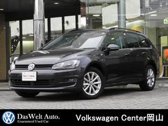 VW ゴルフヴァリアントラウンジ 限定車 純正ナビ バックカメラ ACC 認定中古車