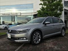 VW パサートヴァリアントTSIハイライン 認定中古車 黒レザー 予防安全機能 保証付