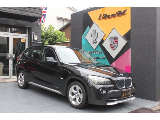BMW X1 sDrive 18i 1オーナー車 社外HDDナビ&TV