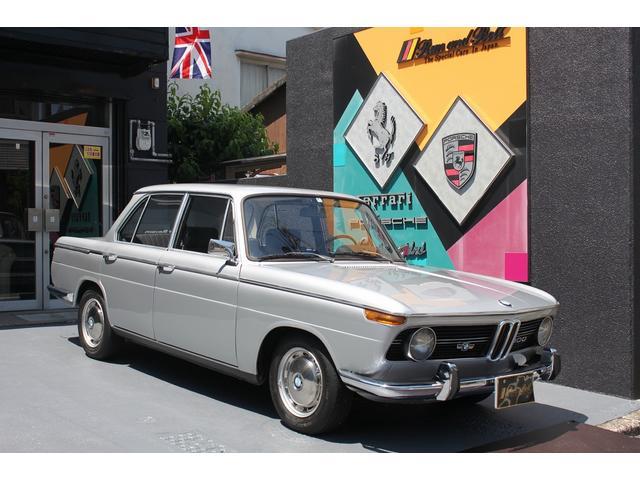 BMW 1800 ディーラー車 左ハンドル 4速MT クーラー付き