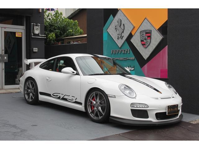 ポルシェ 911 911GT3 ディーラー車 後期型 6速MT クラブスポーツPKG