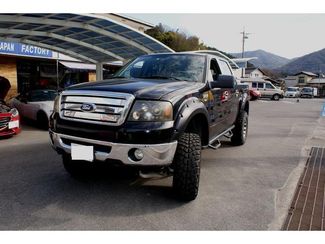 フォード XLT 5.4L CARFAX有り 6インチリフト 6人乗り