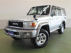 ランドクルーザー70V ヒョウジュ 4WD 1年間走行無制限保証